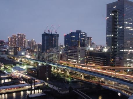 Tokyo Bay Intercontinental Hotel Night