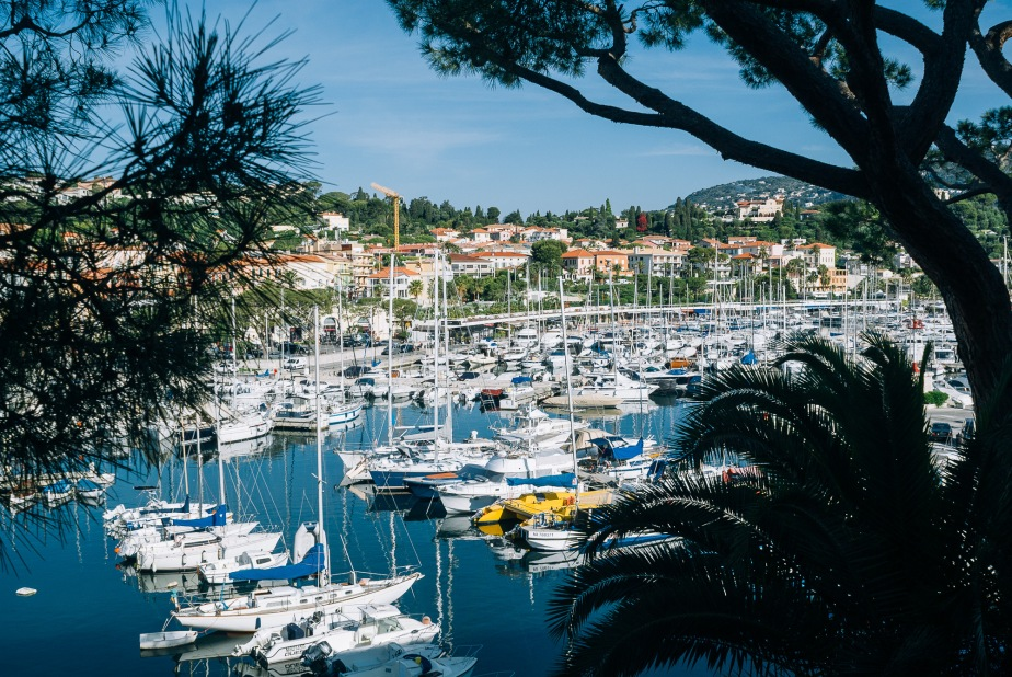 Walking around Cap Ferrat, Cote d'Azur