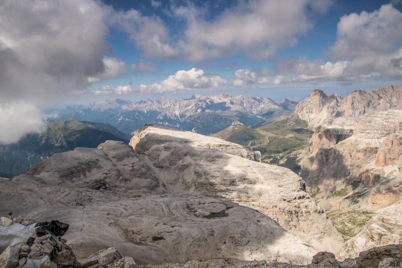 Sella Italy Italia Dolomites Dolomiti Passo Pordoi Rifugio Sentiero Boe Canapa Fassa Maria Alta Via 2