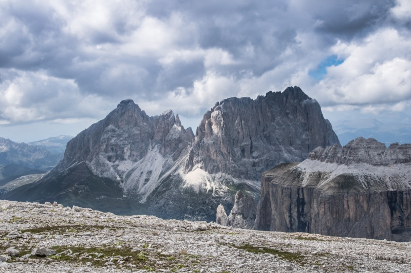 Sasslong Sella Italy Italia Dolomites Dolomiti Passo Pordoi Rifugio Sentiero Boe Canapa Fassa Maria Alta Via 2