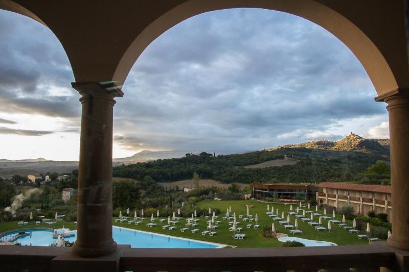 Italy Tuscany Val d'Orcia Bagno Vignoni Adler