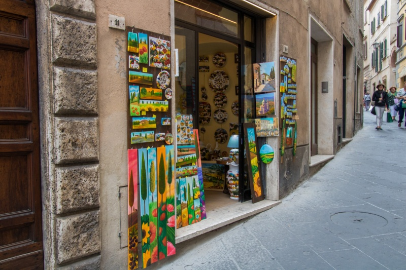 Italy Travel Montepulciano Shop