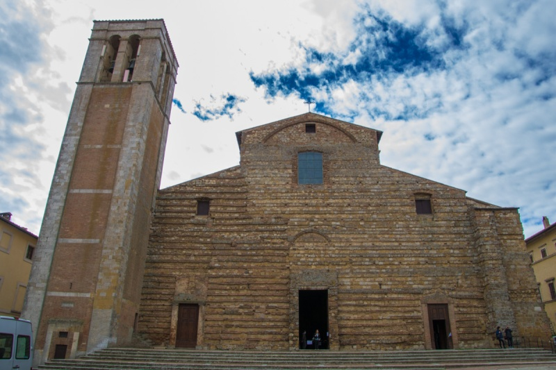 Italy Travel Montepulciano Church