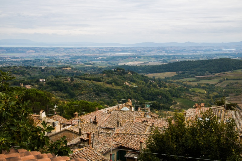 Italy Val d'Orcia Travel Montepulciano Castle