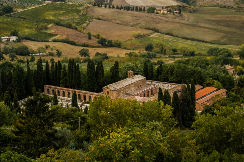 Italy Travel Montepulciano Castle