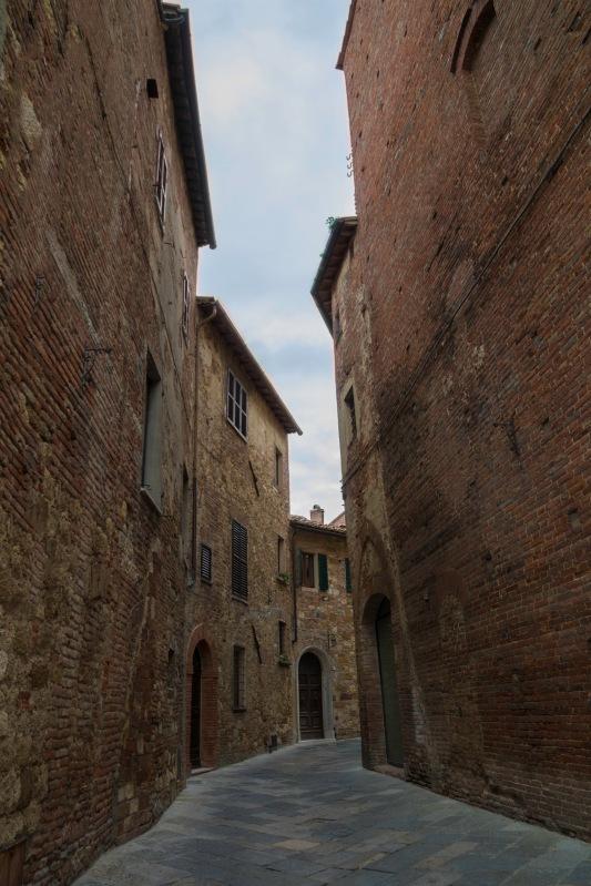 Italy Travel Montepulciano Street