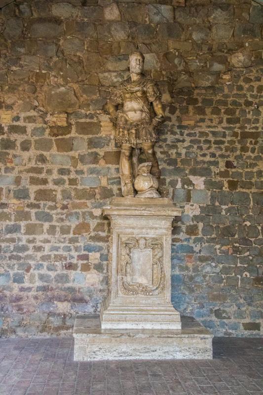 Tuscany Travel Montalcino Statue