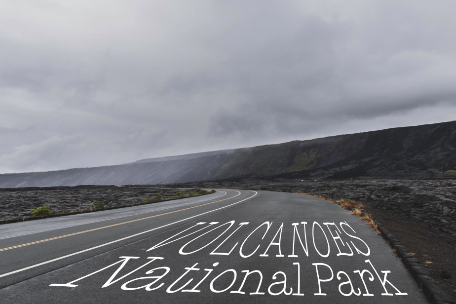 hawaiibig island volcano national park forest chains of crater road drive