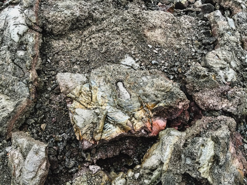 hawaiibig island volcano national park crater fossil