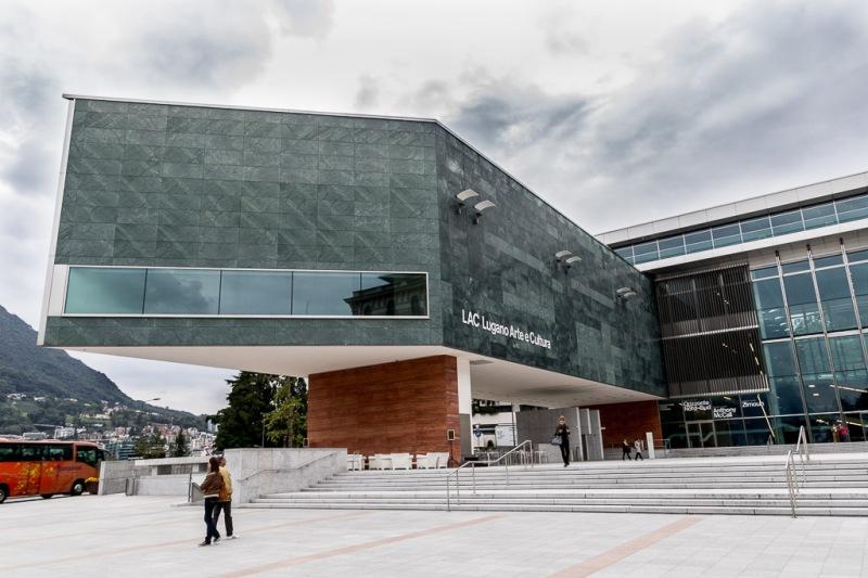 Switzerland Ticino Lugano Art Centre Walk Travel