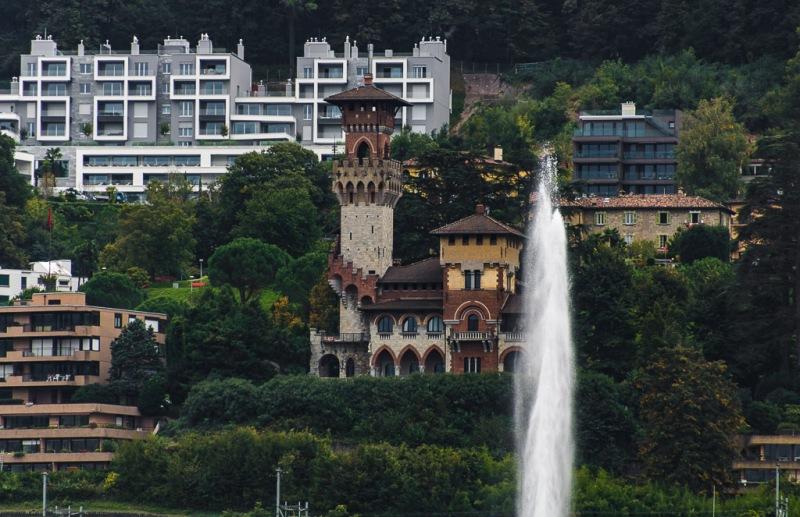 Switzerland Ticino Lugano Lake House