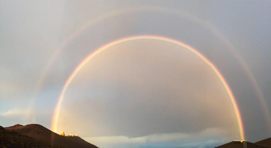 Hawaii Maui Haleakala Rainbow