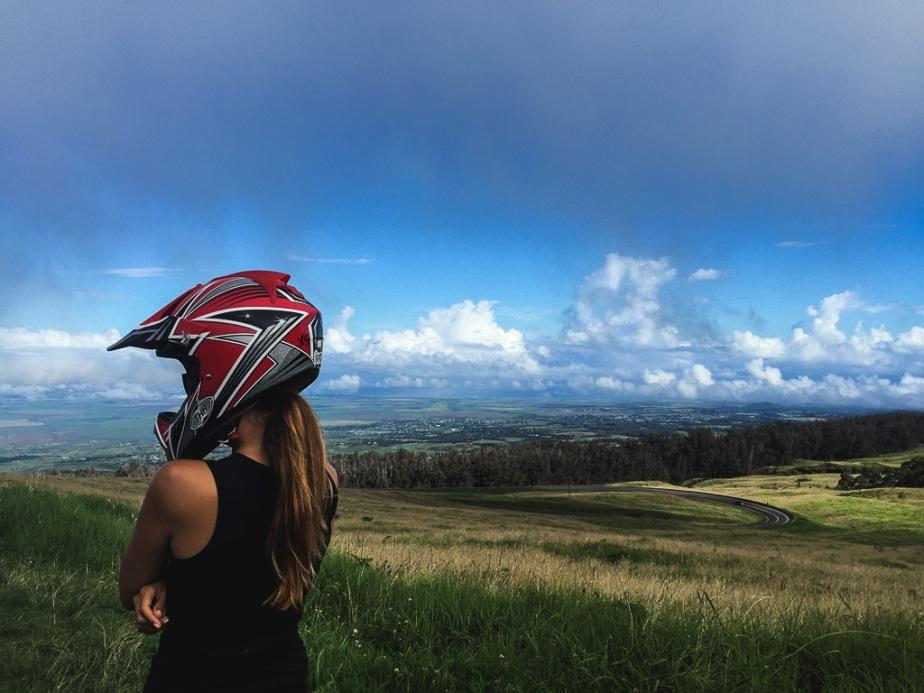Hawaii Maui Haleakala Downhill