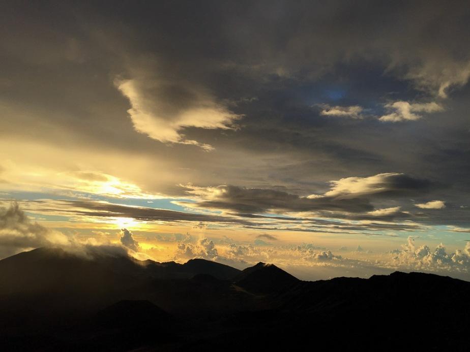Hawaii Maui Haleakala Sunrise