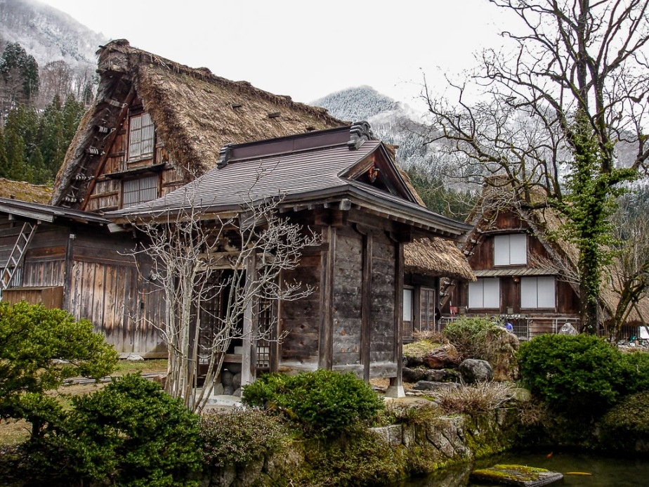 Japan Alps Gifu Prefecture Shirakawago Unesco Village