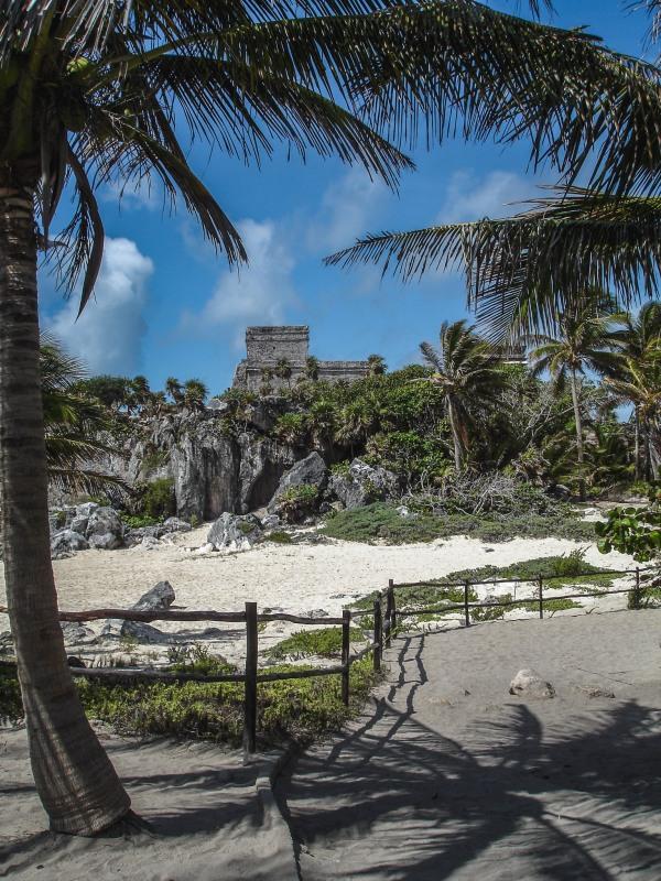 Mexico Tulum Riviera Maya Beach Ruin