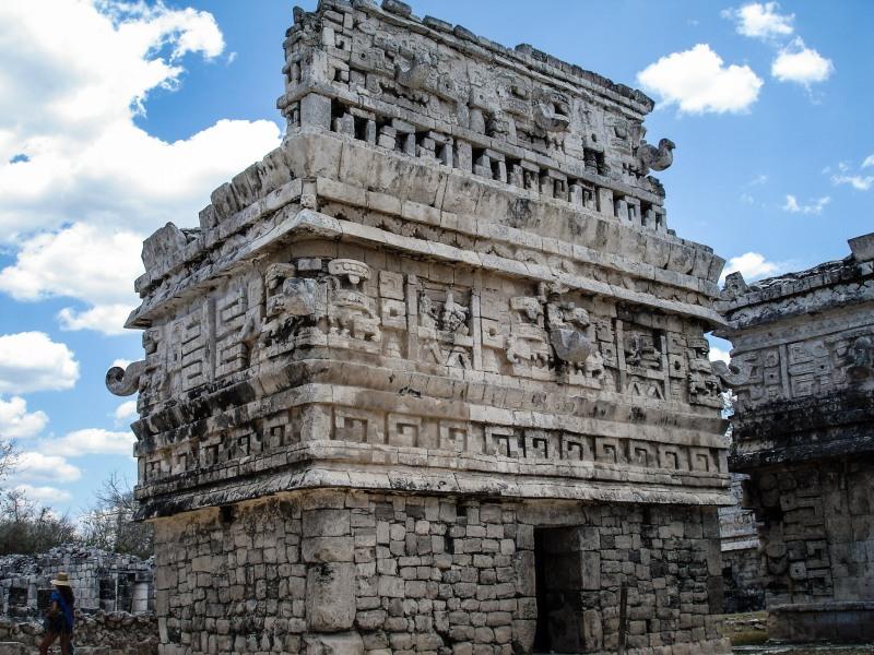 Chicen Itza Mexico Yucatan La Iglesia