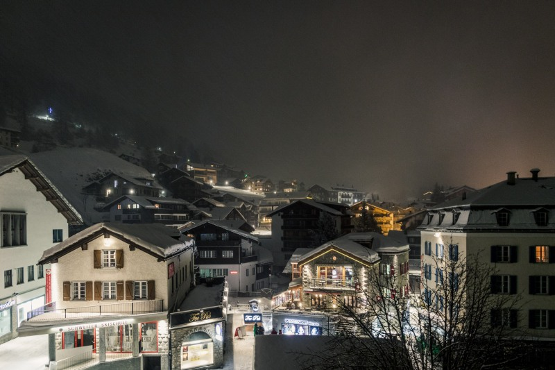 Saas-Fee Switzerland night