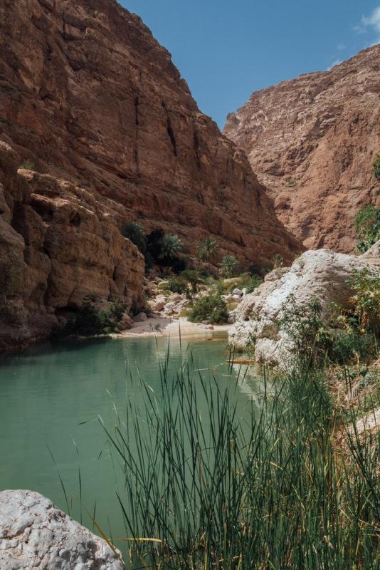Oman Wadi Shab River