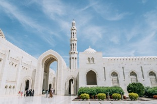 Sultan Qaboos Grand Mosuqe Muscat