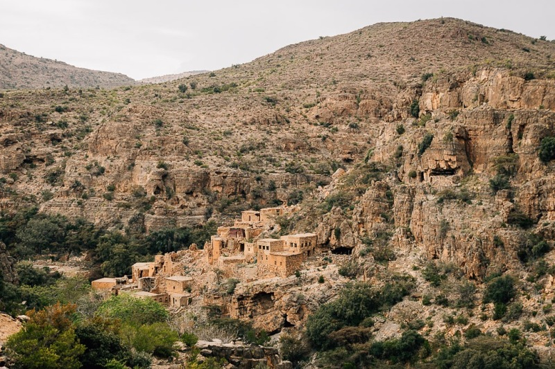 Abandoned Village at Jabal Akhdar Oman