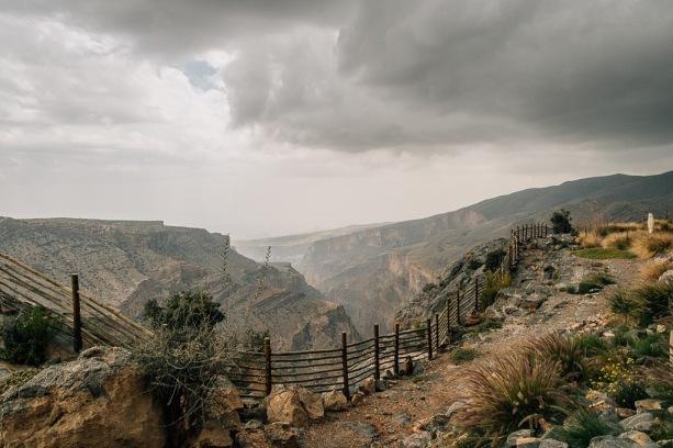 View from Hotel Alila at Jabal Akhdar Oman