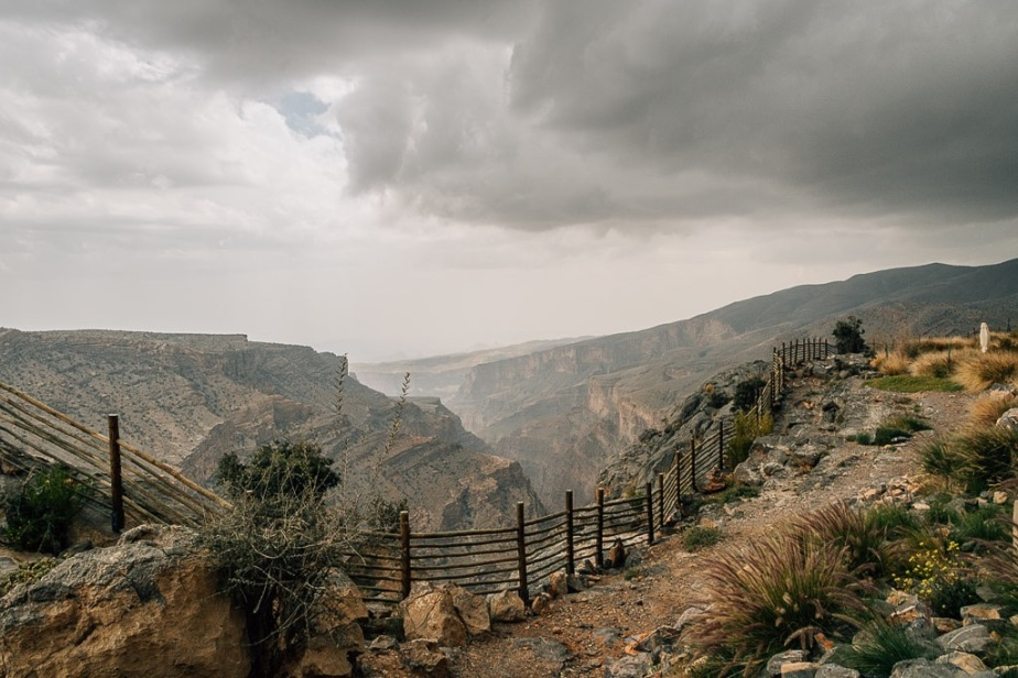 View from Hotel Alila at Jabal Akhdar Oman