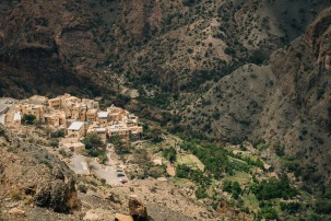 Terraces on the Green Mountain Jabal Akhdar Oman