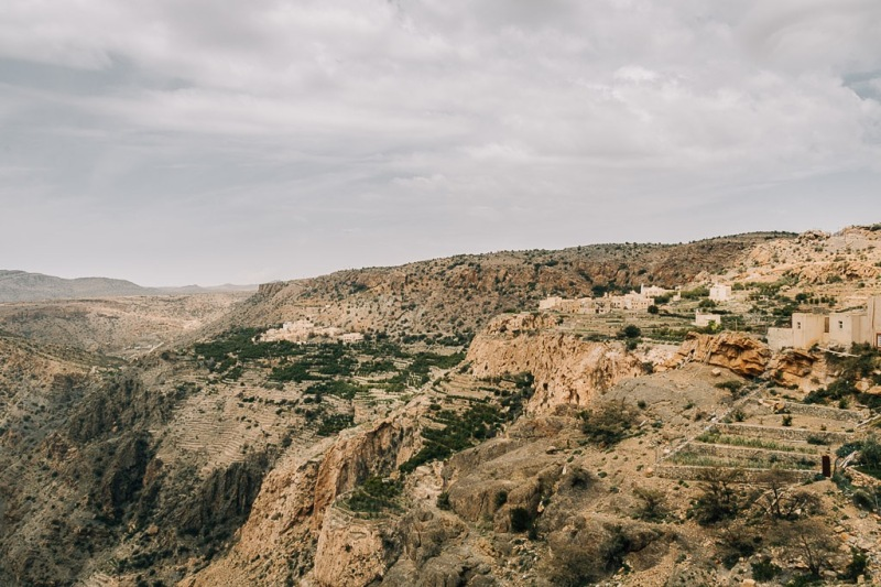 View at Jabal Akhdar Oman