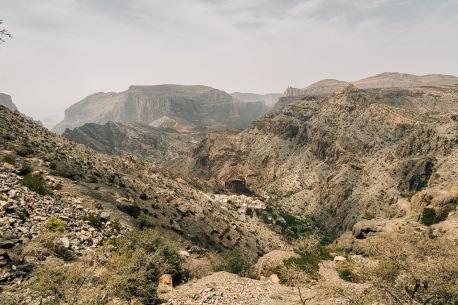 View at Jabal Akhdar Oman
