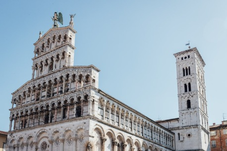 San Michele in Foro Church Lucca Italy