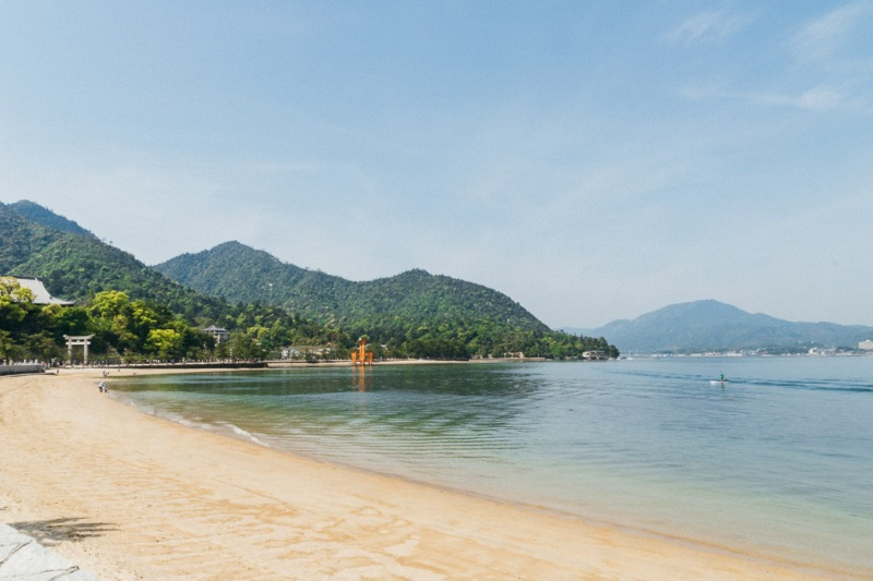Miyajima Beach, Japan