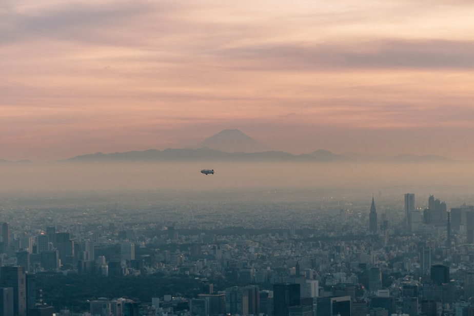 Mount Fuji from Tokyo Skytree