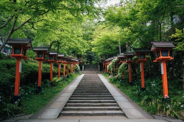 Kurama Stairway