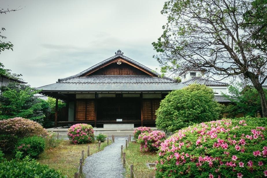 Teahouse at Shosei-en Garden Kyoto