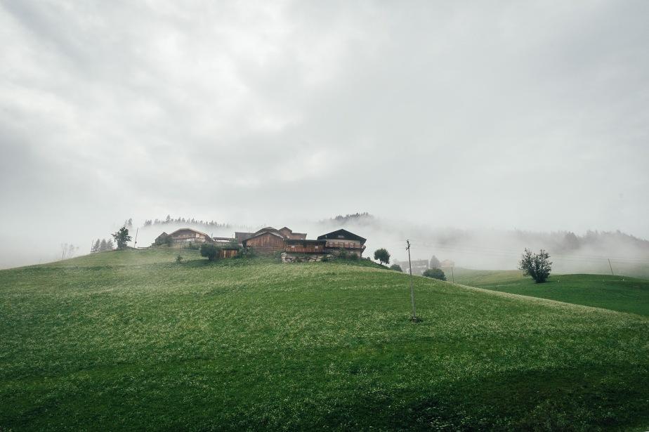 Fog in Val Pusteria